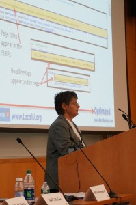 Local Search expert Mary Bowling presents at Local University