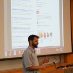 Google's Joel Headley presents at Local University